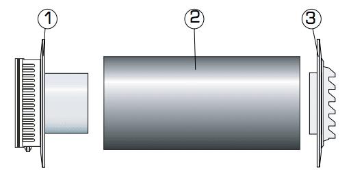 Fresh 90dB wall vent