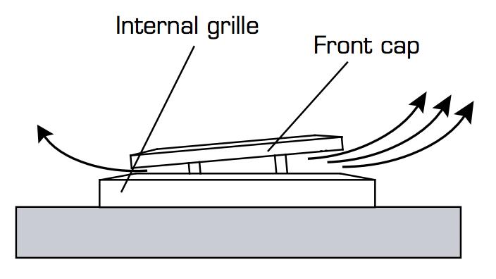 Fresh TL98E wall vent