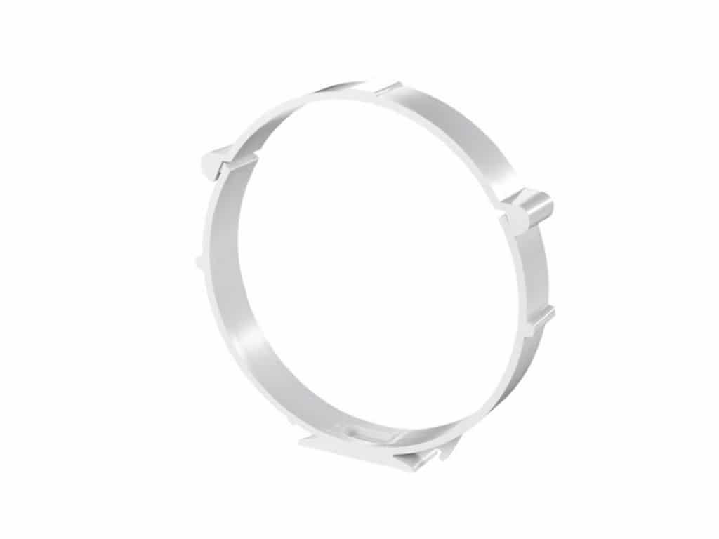 Round duct clip