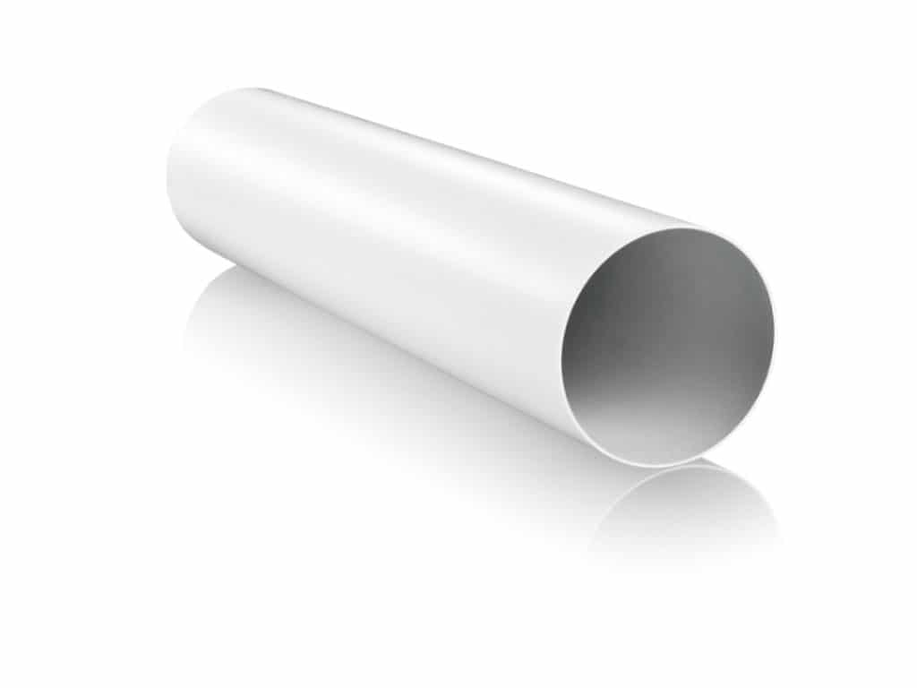 Round ducting pipe