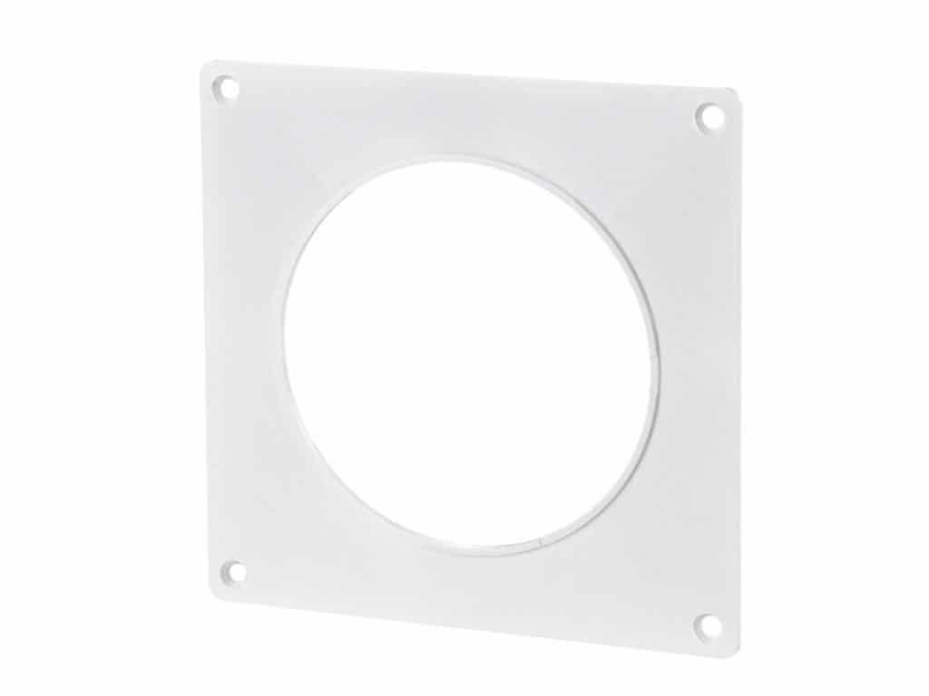 Round wall plate